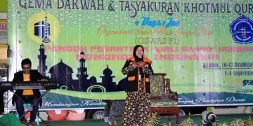 OSWAS Putri Gelar Gema Dakwah dan Tasyakuran Khotmul Qur'an