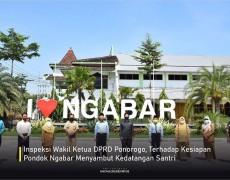 Wakil Ketua DPRD Inspeksi Kesiapan New Normal Life Pondok Ngabar